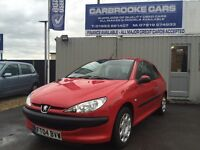2004 04 PEUGEOT 206 INDEPENDENCE 1.2 - 12 MONTHS MOT - NEW CLUTCH FITTED - GREAT FIRST CAR .