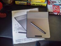 Bamboo Wacom CTH-301 Graphics Tablet - Great Condition - £15