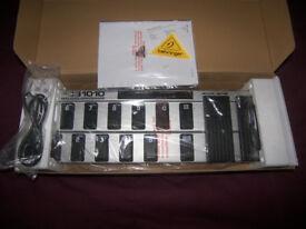 Behringer MIDI Foot Controller FCB1010 / CB 1010 , V2.5 / Brand New!