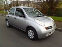 2005 Nissan Micra 1.2s. Only 46,624 Miles. Lovely Condition. Excellent Drive. Long M.O.T