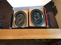 Car shelf speakers