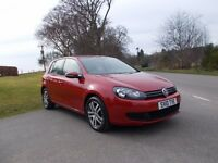 2010 10 VOLKSWAGEN GOLF 1.6 BLUEMOTION TDI SE