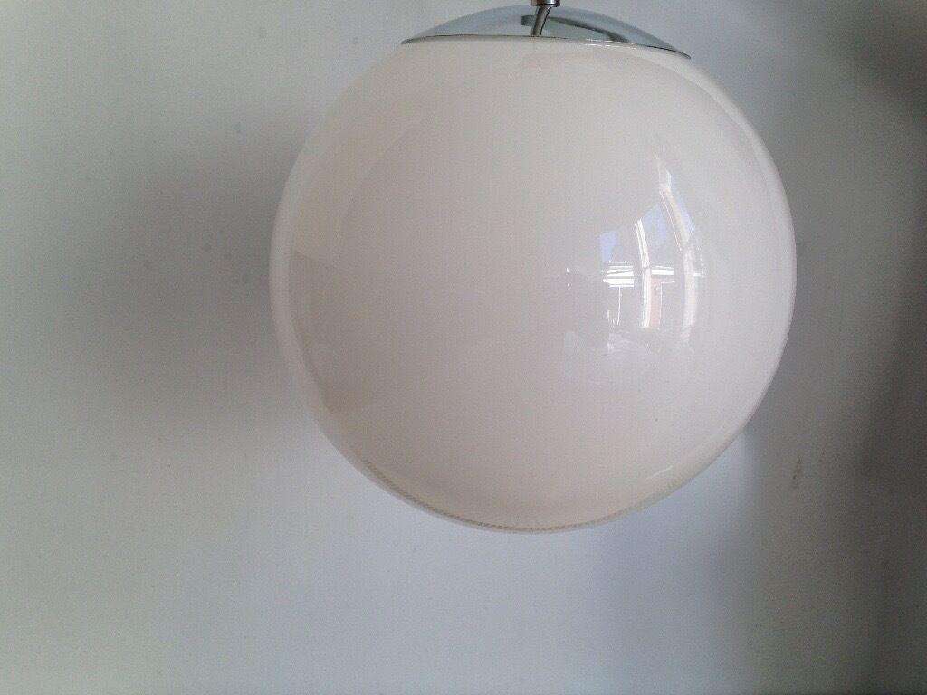 10 inch ceiling glass globe light