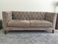 REDUCED TO SELL: 2 x 3 seater sofas - including 10 scatter cushions