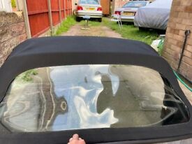 Porsche Boxster 986 Complete Roof(BRAND NEW REAR SCREEN)