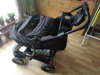 Mothercare 3 in 1 Pram/pushchair/ Travel System Single Seat Stroller