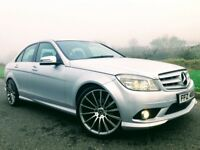 2009 Mercedes C220 CDI SPORT AUTO ***DRIVE THIS CAR AWAY TODAY FOR ONLY £42 A WEEK***