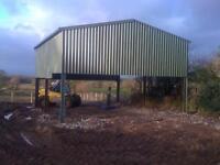30 x 30' agricultural shed lambing garage workshop