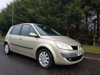 2007 RENAULT SCENIC 1.5 DCI DIESEL FACELIFT MODEL EXCELLENT CONDITION MOT AUGUST 2017