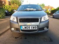 CHEVROLET AVEO 1.4 LT PETROL MANUAL 2009- JUST SERVICED-NEW MOT-CLEAN AND READY TO GO