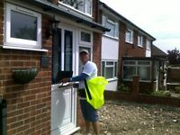 door to door leaflet distributor req. asap. experience preffered