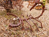 garden feature hand crafted iron scorpion