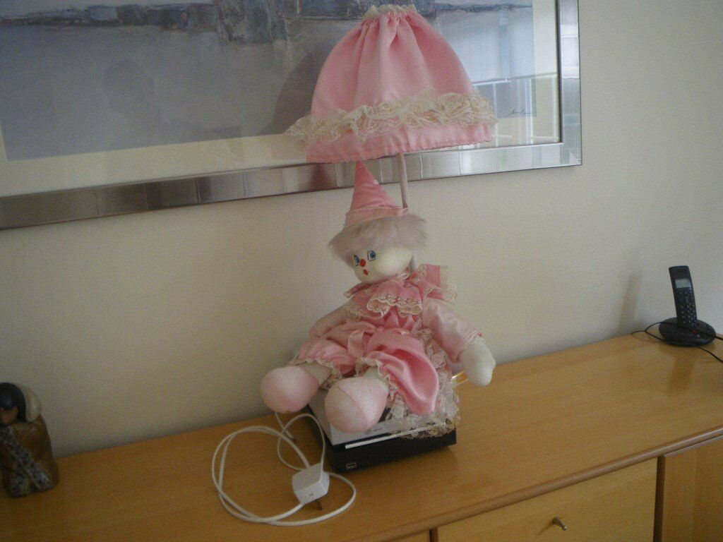 Image result for 1980s doll lamp