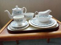 54 Piece Colclough Tea Set