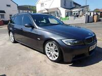 2008 Bmw 330d M-Sport 300bhp (Panroof Auto Leather I-Drive Xenons Ect)