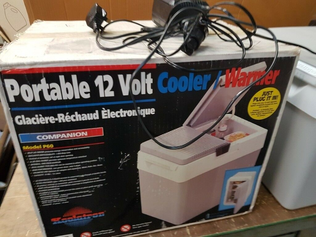 Koolatron P60 electric cooler/warmer box for food and drink