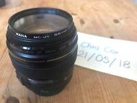 Canon 85mm F1.8 + Lens Hood + Massa UV filter - £195
