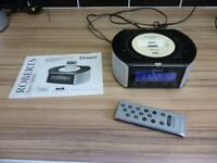 Roberts idream Dab/fm digital clock radio with dock for ipod model crd-42