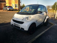 Smart Fortwo pure automatic 2008 1l coupe *53000 miles*