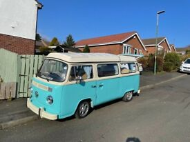Volkswagen t2 campervan, lush van with all the extras ,
