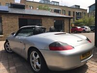 PORSCHE BOXTER 2.7 TIPTRONIC S AUTO **HARD TOP INCLUDED**HPI CLEAR**FULL SH**