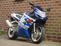 Suzuki GSXR 600 K2 Full MOT runs and rides great