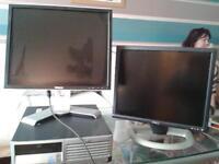 pc pluss 2 dell monitors