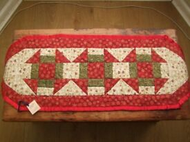 OOAK quilted table runner