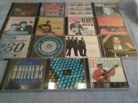 Sixteen Assorted CD's – In Very Good Condition – All Proceeds To Local Group Funds-