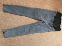 Maternity grey jeans, size 12.