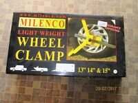 Milenco Lightweight Wheel Clamp.