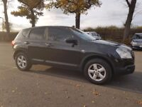 Nissan Qashqai 1.6 petrol manual with 1 years MOT