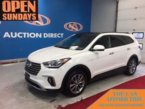 2017 Hyundai Santa Fe XL Limited, 7 PASSENGER, LEATER, HEATED SE