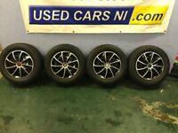 195 65 15 Steel Wheels 5x112 Fitment for Volkswagen, Audi, Seat, Skoda