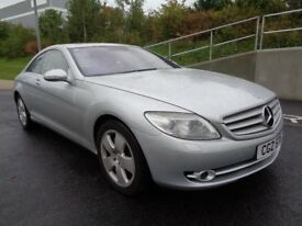 2007 MERCEDES CL 500 AUTOMATIC PETROL, 1 OWNER FROM NEW , FSH, SUNROOF, BARGAIN!