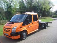 RECOVERY DELIVERY & COLLECTIONS OF MOTOR VEHICLES & LIGHT VANS - LOCAL RATE FROM £50