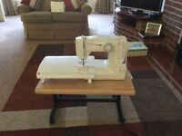 Toyota sewing Machine RS2000-2Dwith extension table