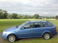 05 plate 1.6 petrol ,long mot,estate,good runnerchevrolet lacetti sx,not Astra,vw,Renault,Peugeot