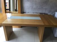 Chunky Wood Dining Table