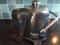 Juicer - Moulinex Juice Master Plus - never used just washed off dust