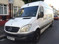 2008 MERCEDES BENZ SPRINTER LWB 2.2 DIESEL MANUAL WHITE MOT HPI CLEAR QUICK SALE