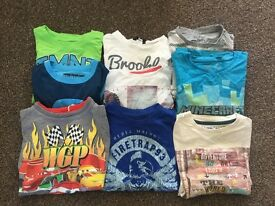 Bundle of boys t-shirts 7-8 years