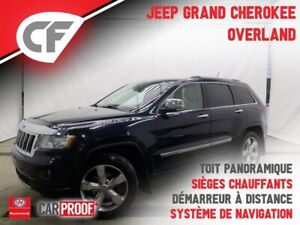 2011 Jeep Grand Cherokee GPS - TOIT OUVRANT - CUIR