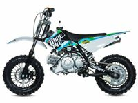 STOMP MP 65 PIT BIKE, NEW, FINANCE AVAILABLE, CHILDS KIDS MOTORBIKE