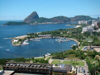 Rio de Janeiro Sugar Loaf 1 bed Flat Short /Medium/Long Holiday Rental Tourism/Business/STUDENT