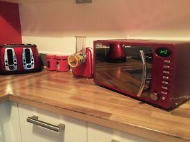 Red Kitchen Goods.