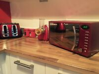 Red Kitchen Goods.