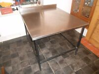 Stainless Steel Table - ideal for for food preparation