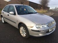 2002 ROVER 25 1.4 IMPRESSION 5 DR HATCHBACK BARGAIN PRICE LEATHER