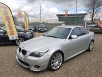 2009 BMW 5 Series 2.0 520d M Sport Business Edition 4dr/ Diesel / 6 Month RAC Warranty Included